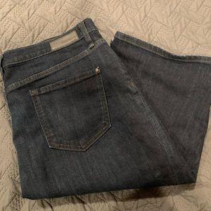 DKNY Bermuda Jean Shorts
